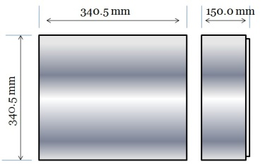 Ex e enclosure Dimensions
