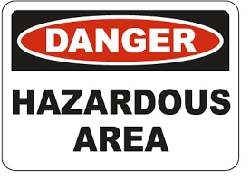 Hazardous Area Label